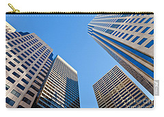 Carry-all Pouch featuring the photograph Highrises by Jonathan Nguyen