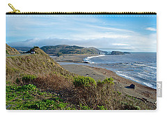 Highway 1 Near Outlet Of Russian River Into Pacific Ocean Near Jenner-ca  Carry-all Pouch