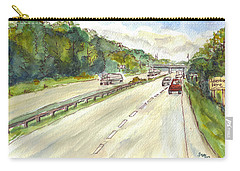 Highway 95 Carry-all Pouch
