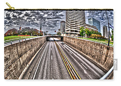 Carry-all Pouch featuring the photograph Highway Into St. Louis by Deborah Klubertanz