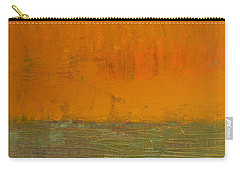 Highway Series - Grasses Carry-all Pouch by Michelle Calkins