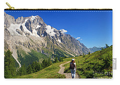 hiking in Ferret Valley Carry-all Pouch