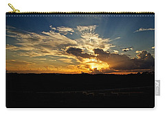 Hill Country Sunset Carry-all Pouch by Dave Files
