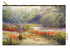 Hill Country Wildflowers Carry-all Pouch