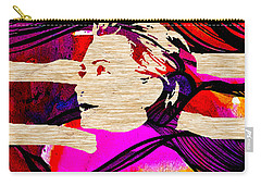 Hillary Clinton Carry-all Pouch by Marvin Blaine