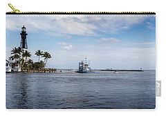 Hillsboro Inlet Lighthouse Panorama Carry-all Pouch
