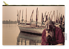 Hindu Priest Offering Prayers Carry-all Pouch