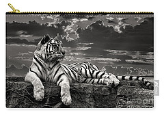 Carry-all Pouch featuring the photograph His Majesty by Adam Olsen