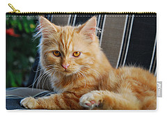 Carry-all Pouch featuring the photograph His Royal Highness by Kenny Francis