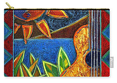 Carry-all Pouch featuring the painting Hispanic Heritage by Oscar Ortiz