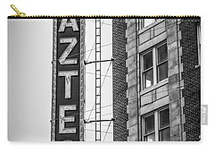 Historic Aztec Theater Carry-all Pouch by Melinda Ledsome