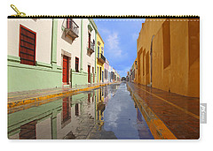 Carry-all Pouch featuring the photograph Historic Campeche Mexico  by Susan Rovira