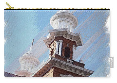 Historic Church Steeples Carry-all Pouch by Bobbee Rickard