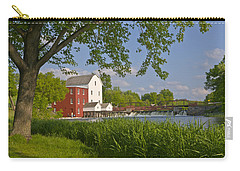Historic Flour Mill By A River Carry-all Pouch