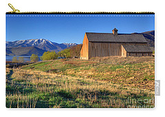 Historic Francis Tate Barn - Wasatch Mountains Carry-all Pouch by Gary Whitton