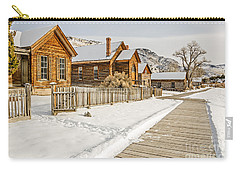 Historic Ghost Town Carry-all Pouch by Sue Smith