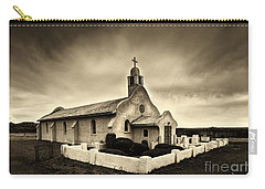 Historic Old Adobe Spanish Style Catholic Church San Ysidro New Mexico Carry-all Pouch
