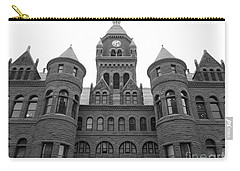Carry-all Pouch featuring the photograph Historic Old Red Courthouse Dallas #2 by Robert ONeil