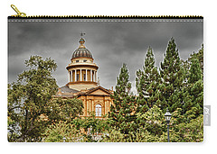 Carry-all Pouch featuring the photograph Historic Placer County Courthouse by Jim Thompson