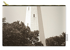 Historic Sandy Hook Lighthouse Carry-all Pouch by Anthony Sacco