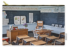 Historic School Classroom Art Prints Carry-all Pouch