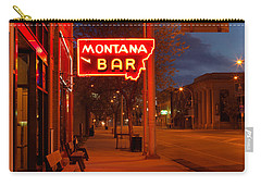 Historical Montana Bar Carry-all Pouch