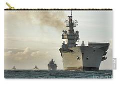 Hms Ark Royal  Carry-all Pouch by Paul Fearn