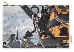 Hms Diamond And Hms Victory Carry-all Pouch