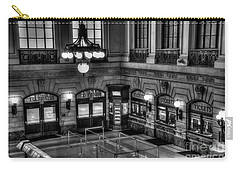 Hoboken Terminal Waiting Room Carry-all Pouch by Anthony Sacco
