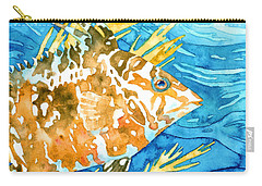 Hogfish Portrait Carry-all Pouch