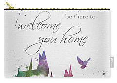 Hogwarts Will Welcome You Home Carry-all Pouch