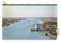 Holden Beach In Nc Carry-all Pouch by Cynthia Guinn