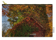 Carry-all Pouch featuring the photograph Holding Up The  Fall Colors by Jeff Folger