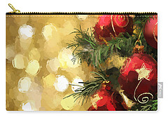 Holiday Ornaments Carry-all Pouch