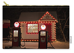 Holiday Service Station Carry-all Pouch by Susan  McMenamin