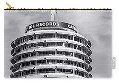 Hollywood Landmarks - Capitol Records Carry-all Pouch