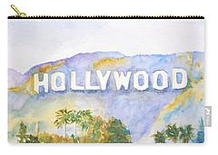 Hollywood Sign California Carry-all Pouch by Carlin Blahnik