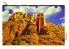 Holy Cross Chapel Coconino National Forest Carry-all Pouch