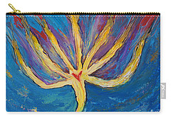 Holy Spirit Which Dwells In You Carry-all Pouch by Cassie Sears