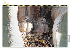 Carry-all Pouch featuring the photograph Home All Alone by Deb Halloran