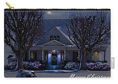 Carry-all Pouch featuring the photograph Home For Christmas by Bonnie Willis