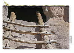 Home In Frijoles Canyon Carry-all Pouch by Lynn Sprowl