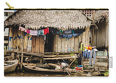 Home In Shanty Town Carry-all Pouch by Allen Sheffield