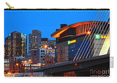 Home Of The Celtics And Bruins Carry-all Pouch