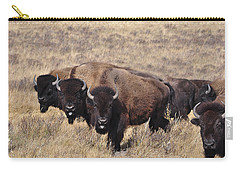 Carry-all Pouch featuring the photograph Home On The Range by Fran Riley