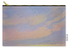 Homeward, 2004 Oil On Canvas Carry-all Pouch