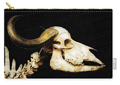 Carry-all Pouch featuring the mixed media Hommage A La Georgia by Sandy MacGowan