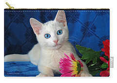 Carry-all Pouch featuring the photograph Honest I Found It Like This by Kenny Francis