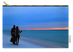 Honeymooners At Dawn On Pensacola Beach Carry-all Pouch
