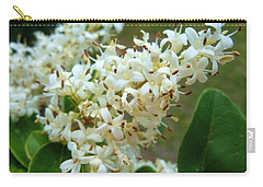 Carry-all Pouch featuring the photograph Honeysuckle #1 by Robert ONeil